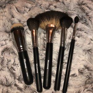MORPHE 5 piece brush bundle